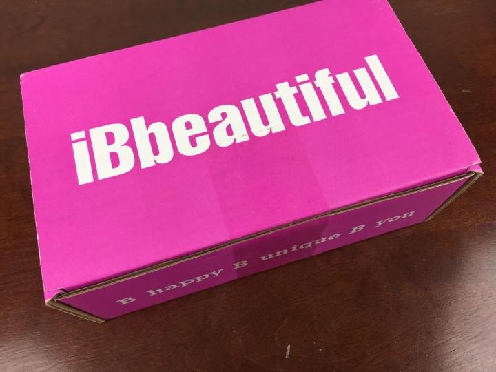ibbeautiful october 2015 box