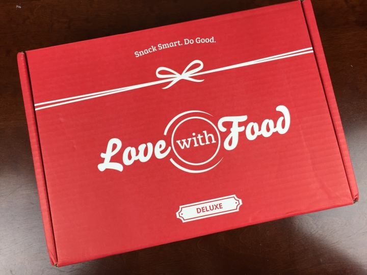 love with food september 2015 box