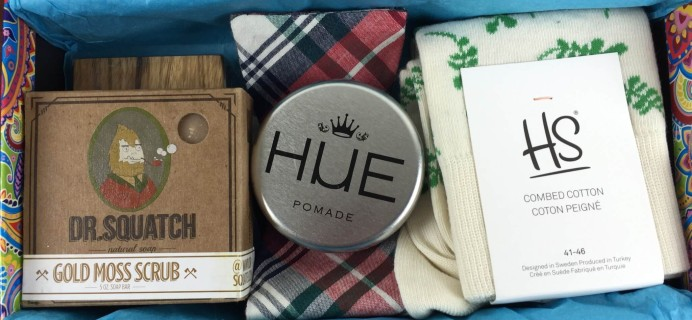 Menswear Club Subscription Box Review – October 2015
