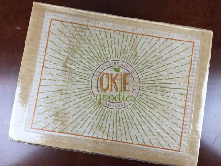 okie goodies july 2015 box