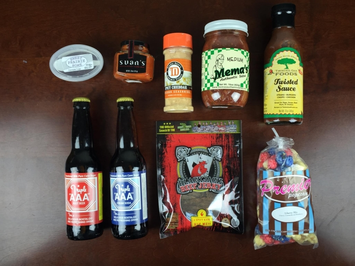 okie goodies july 2015 review