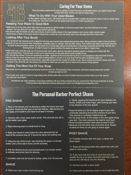 personal barber welcome box IMG_0143