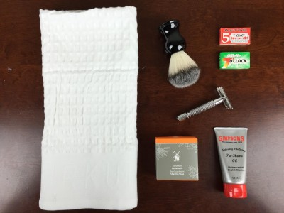 The Personal Barber Welcome Box Review & Coupon – UK Wet Shaving Subscription Box