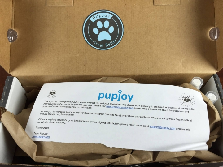 pupjoy september 2015 unboxing