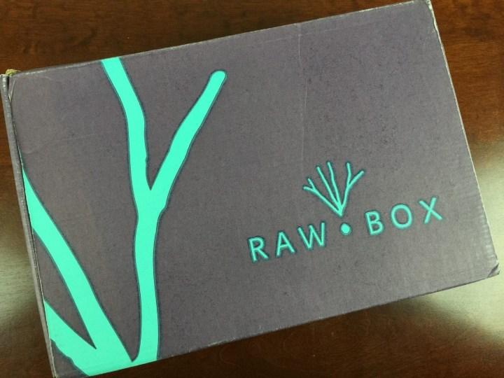 rawbox october 2015 box