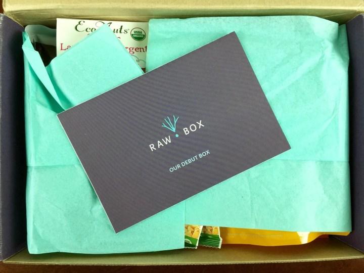 rawbox october 2015 unboxing