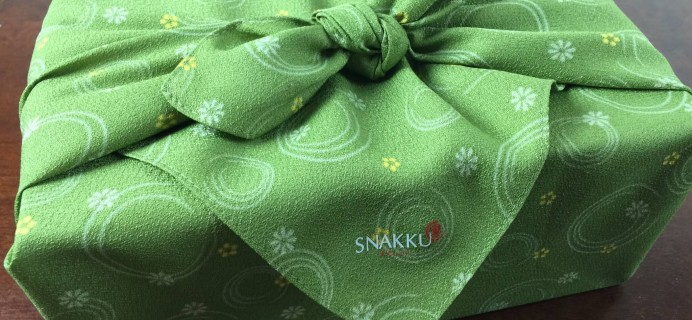 Snakku Japanese Snack Subscription Box Review & Coupon & Giveaway! – September 2015