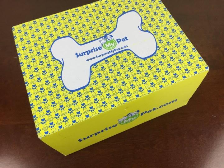 surprise my pet october 2015 box