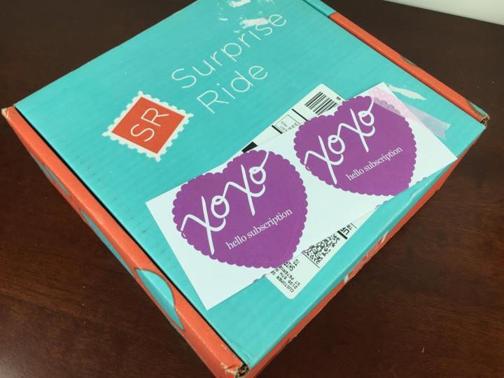 surprise ride october 2015 box