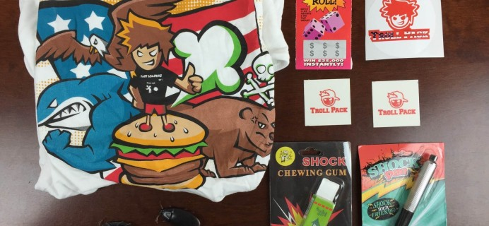 Troll Pack Subscription Box Review