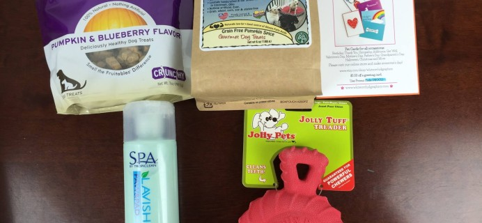 October 2015 True Drool Large Dog Subscription Box Review + $15 Coupon