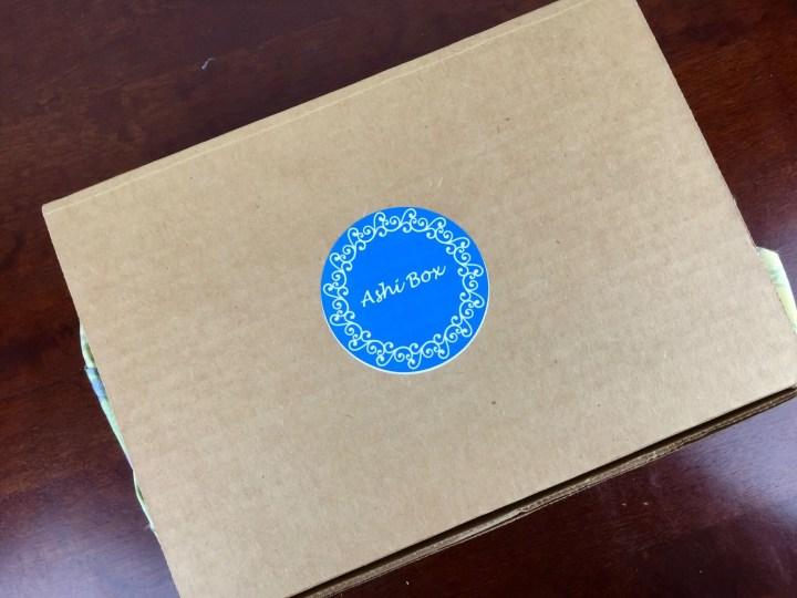 Ashi Box November 2015 box