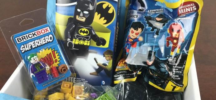 BrickBox November 2015 Lego Themed Subscription Box Review