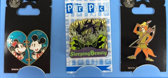 Disney Park Pack: Pin Trading Edition November 2015 Subscription Box Review