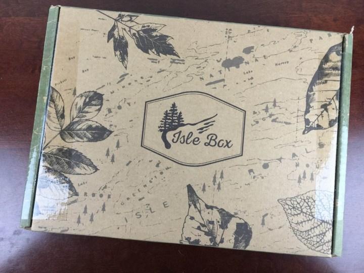 Isle Box November 2015 box