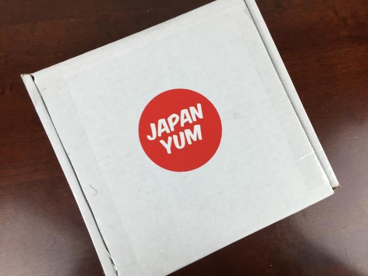 Japan Yum November 2015 box