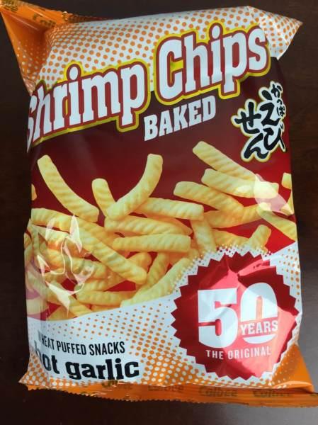 Japan Yum November 2015 shrimp chips