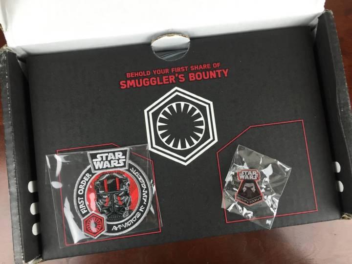 Star Wars Smugglers Bounty November 2015 badge pin