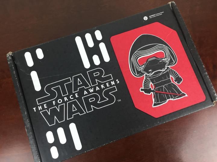 Star Wars Smugglers Bounty November 2015 box