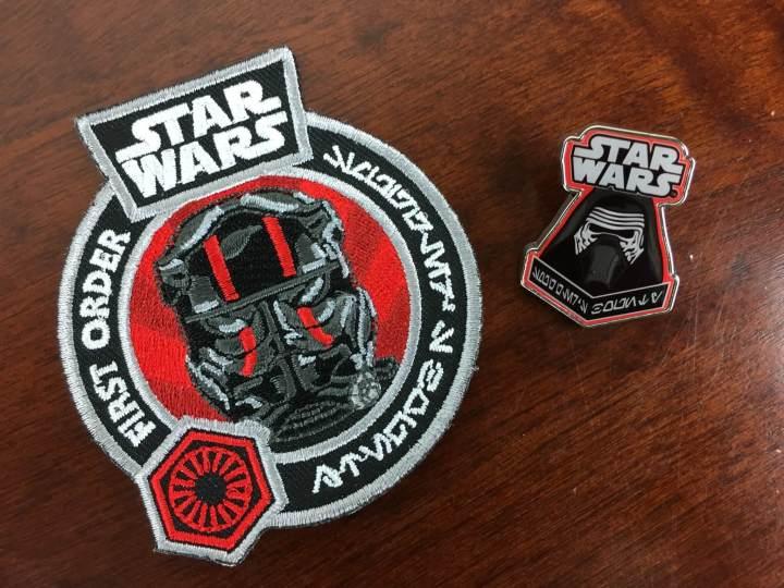Star Wars Smugglers Bounty November 2015 pin badge