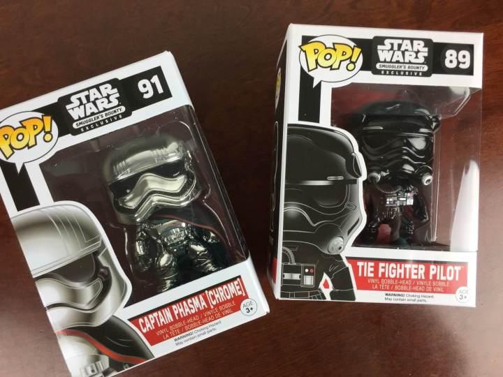 Star Wars Smugglers Bounty November 2015 pops