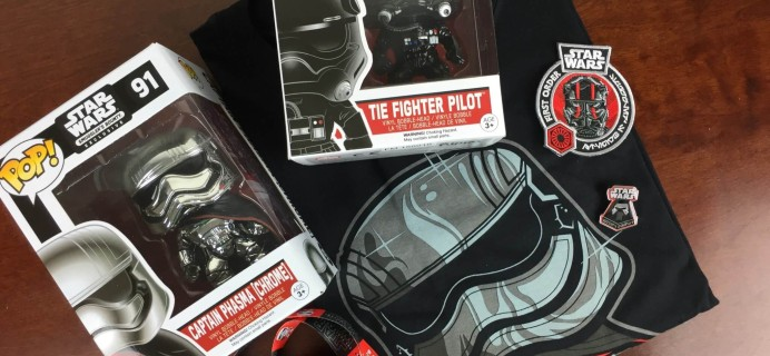 Smugglers Bounty Star Wars Subscription Box Review – November 2015: The Force Awakens