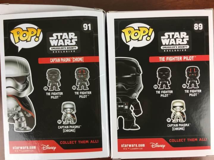 Star Wars Smugglers Bounty November 2015 variant