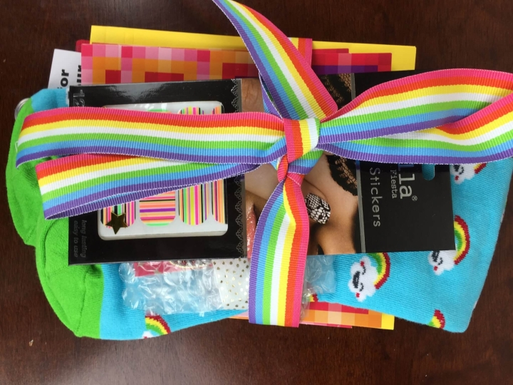 Style Your Life Sprinkles November 2015 unboxing