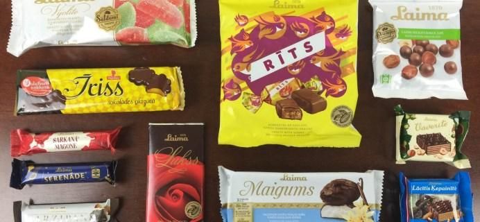 Sweet Latvia November 2015 Subscription Box Review + Coupon Code