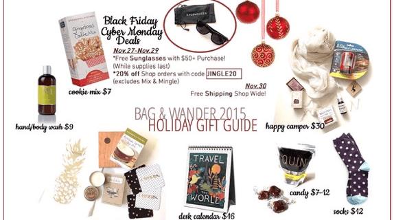 Bag & Wander Black Friday Deals! 20% Off Shop Purchase + 10% Off Subscriptions!