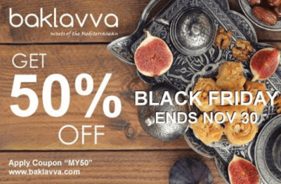Baklavva Subscription Box Cyber Monday Deal – Half Off First Box!