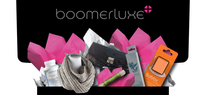 Black Friday Women 50+ Subscription Box Deal: 5% Off Boomerluxe