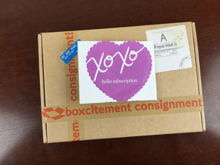 boxcitement october 2015 box