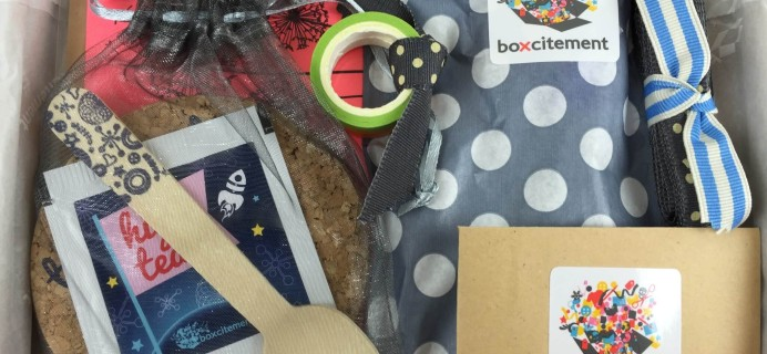 Boxcitement Subscription Box Review – October 2015