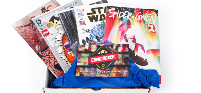 Comicboxer Cyber Monday Deal: 20% Off Subscription!