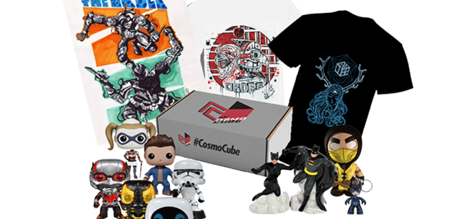 Cosmo-Cube Geek Box Cyber Monday Deal: $4 Off!