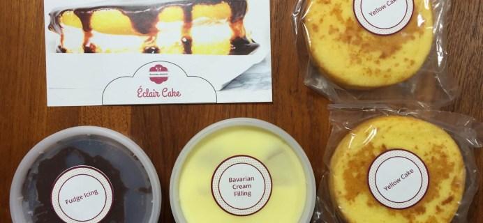 Doorstep Desserts Subscription Box Review – Eclair Cake