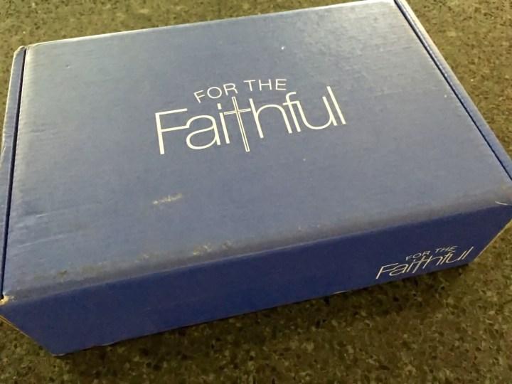 for the faithful october 2015 box