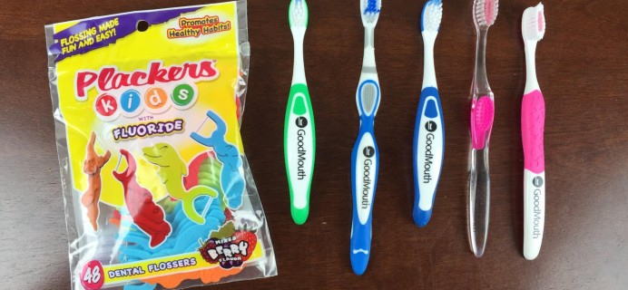 Good Mouth Toothbrush Subscription Box Review