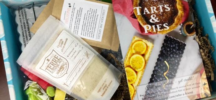 November 2015 Hamptons Lane Review & Coupon – Tarts & Pies Box