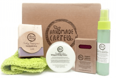 Handmade Cartel Cyber Monday Coupon Code: 25% Off First Month – Natural-Organic Subscription Box