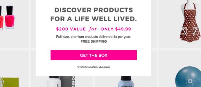 FabFitFun Box Cyber Monday Deal: $10 Off First Month!