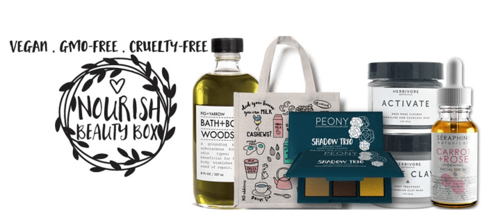 Nourish Beauty Box Cyber Monday Deal – Free Bonus Box With Subscription!