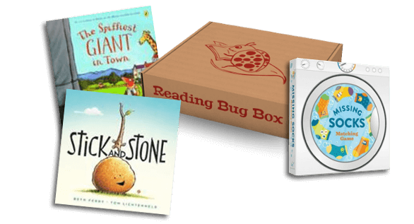 Reading Bug Box: Half Off First Box Cyber Monday Deal