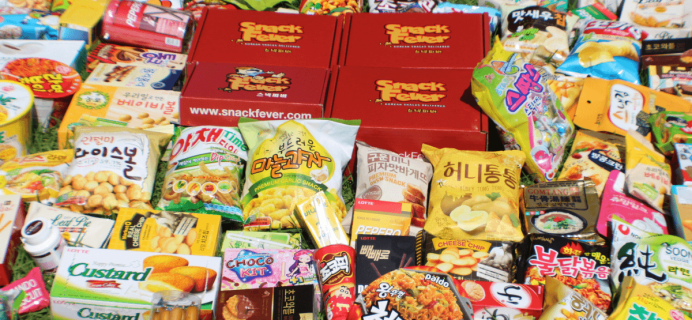 SnackFever Black Friday Deal! 75% Off First Month on 3+ Month Subscriptions!