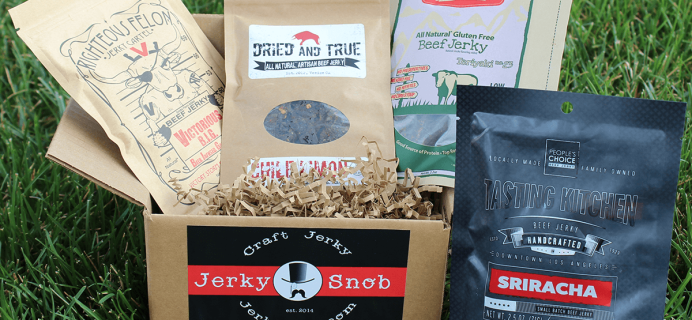 Jerky Snob Cyber Monday Deal: 20% Off First Month