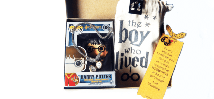 Monthly Prophet Cyber Monday Deal: $10 Off First Fan-Geek Subscription Box!