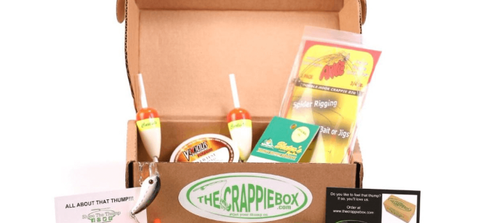 The Crappie Box Fishing Subscription Box Black Friday Deal – 20% Off 3+ Month Plans!