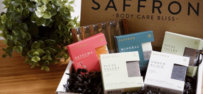Cyber Monday Deal for HALF OFF Saffron Soap Box!