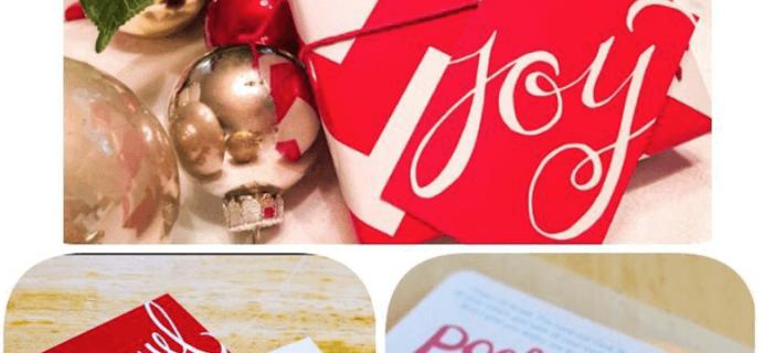 The Believer's Box December Sneak Peek + Cyber Monday Deal – $10 off 3 Months!